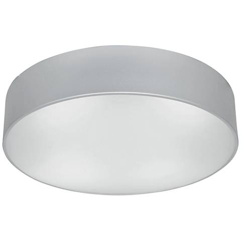 "TomTom 16 1/2"" Wide Satin Frosted Glass LED Ceiling Light"