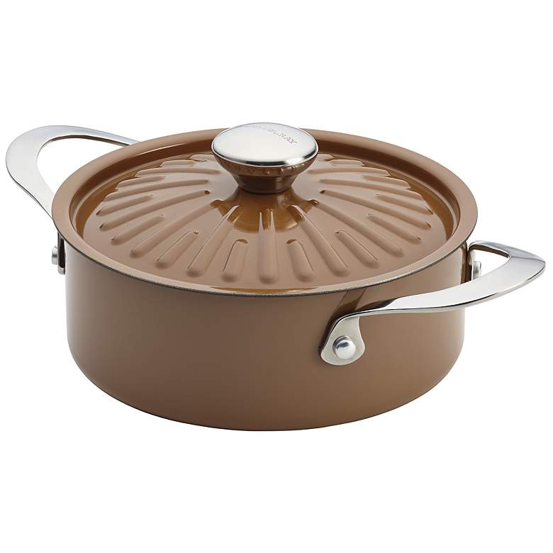 Rachael Ray Cucina Oven-To-Table 2 1/2-Quart Brown Casserole