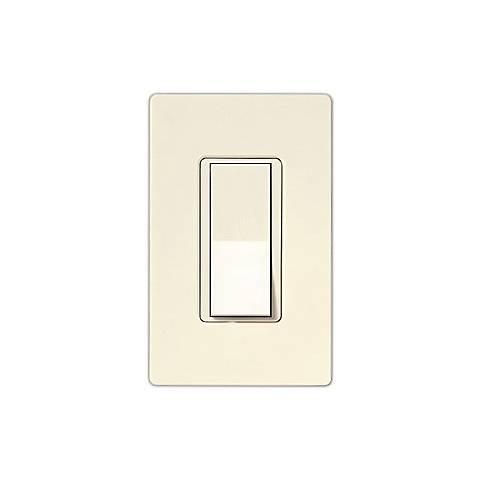 Leviton Decora Rocker Switch 3-Way- Light Almond