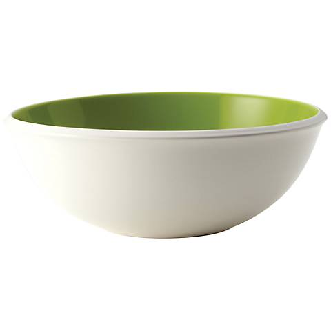"Rachael Ray Serveware Rise 10"" Green Serving Bowl"