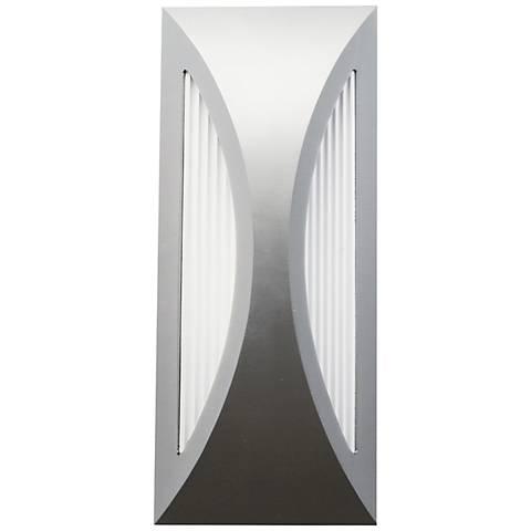 "Kichler Ceysa 12"" High Platinum LED Outdoor Wall Light"