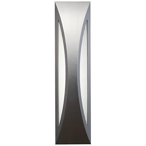 "Kichler Ceysa 24"" High Platinum LED Outdoor Wall Light"