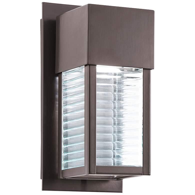 "Kichler Sorel 10 3/4"" High Bronze Outdoor LED Wall Light"