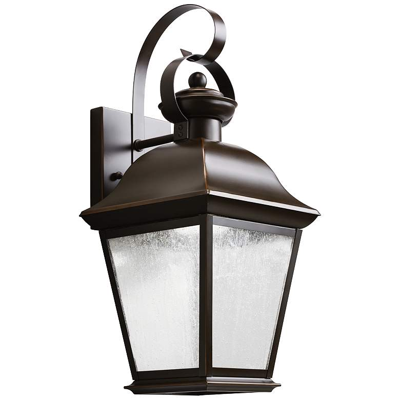 "Kichler Mount Vernon 16 3/4"" High LED Outdoor Wall Light"