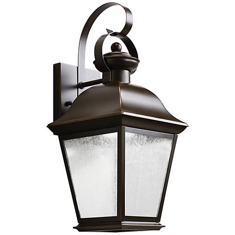 "Kichler Mount Vernon 16 3/4"" High LED Outdoor Wall Light"
