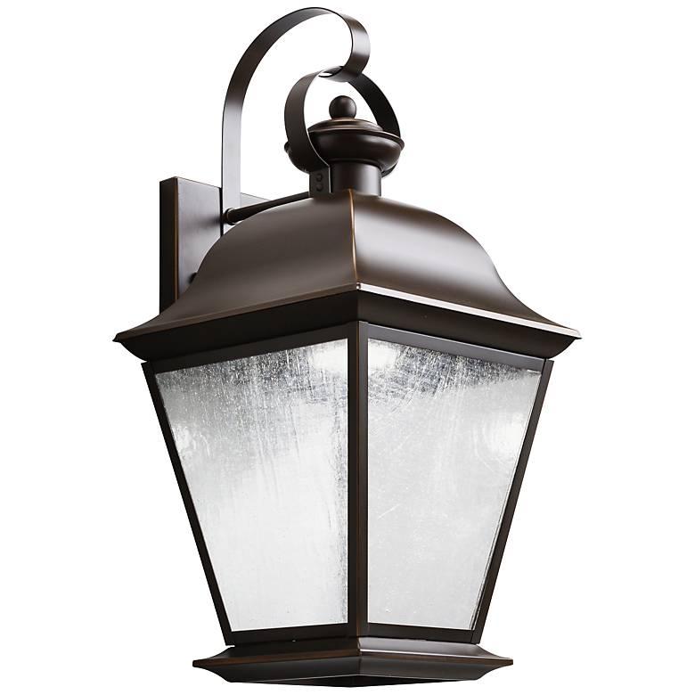 "Kichler Mount Vernon 19 1/2"" High LED Outdoor Wall Light"