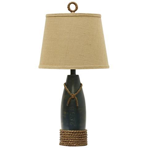 Sea Blue Coastal Table Lamp