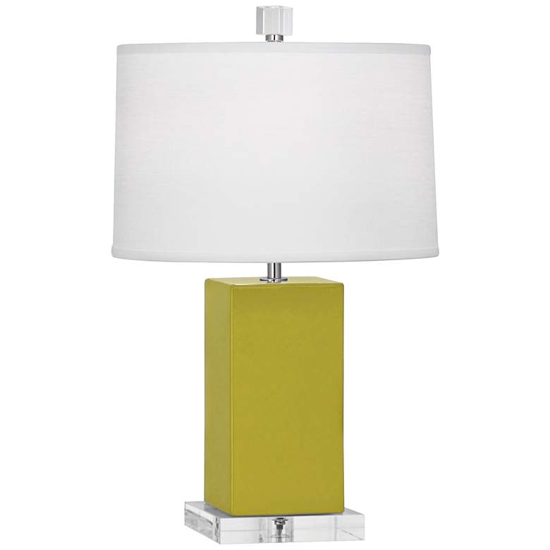 "Robert Abbey 19 1/4""H Harvey Citron Ceramic Accent"