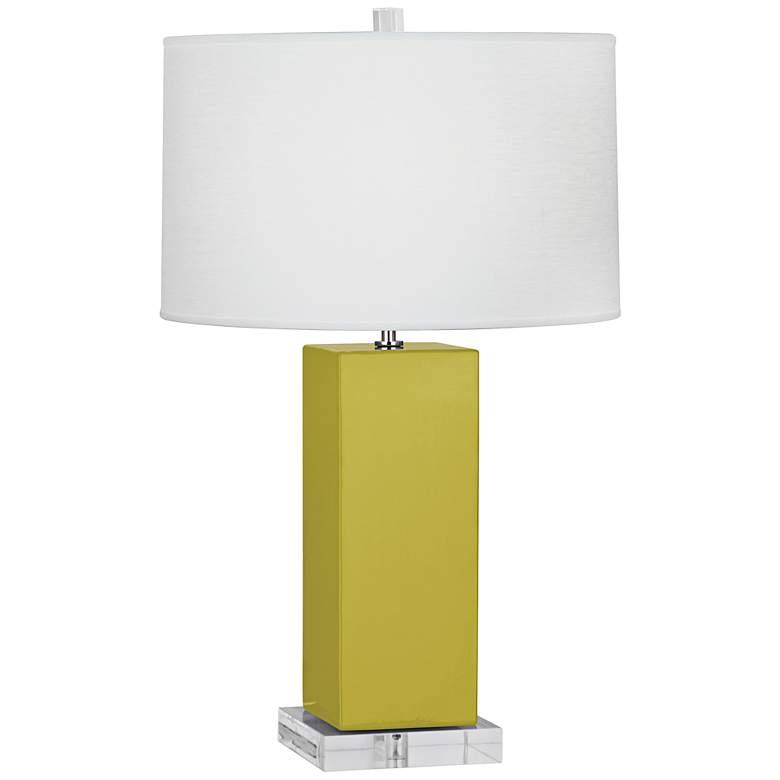 Robert Abbey Harvey Citron Ceramic Table Lamp