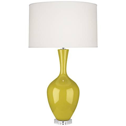 Robert Abbey Audrey Citron Ceramic Buffet Lamp