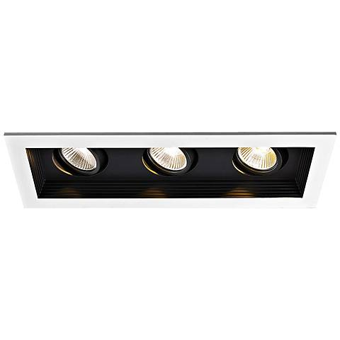 WAC Triple Spot Light 33W LED New Construction Recessed Kit