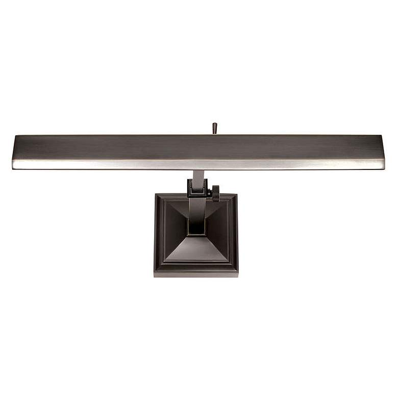 "dweLED Hemmingway 14"" Wide Rubbed Bronze LED Picture Light"