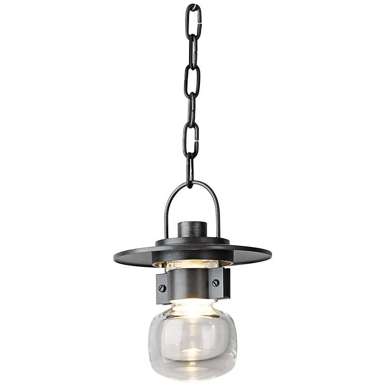 "Hubbardton Forge Mason 9""H Steel Hanging Light"