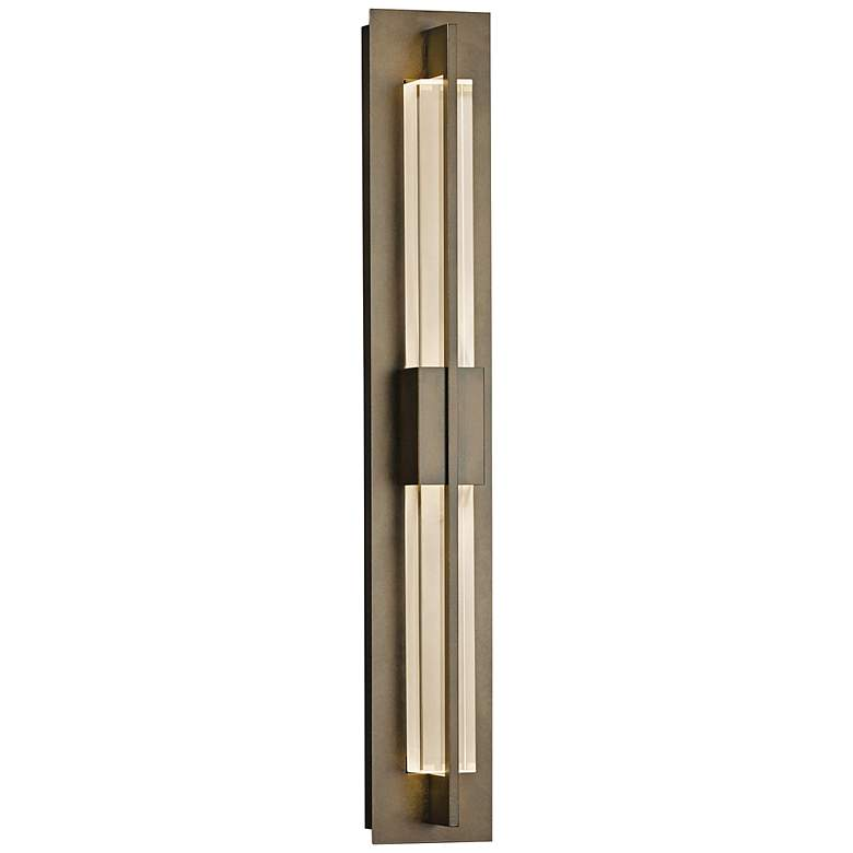 """Hubbardton Forge Double Axis 31"""" High Bronze LED"""