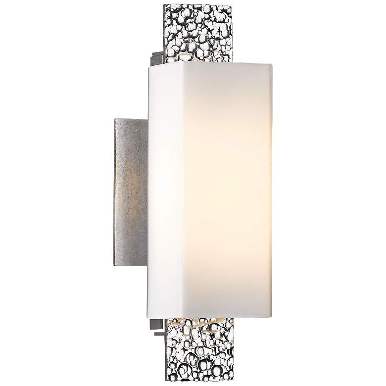 "Hubbardton Forge Oceanus 12 1/2"" High Platinum Wall"