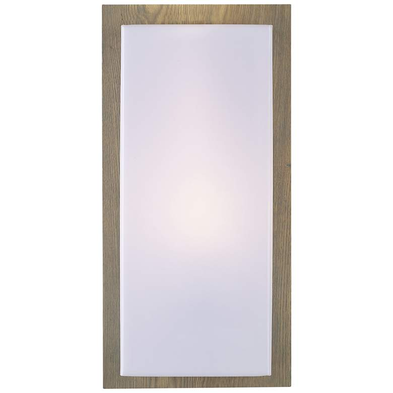 """Lucero 16"""" High Ash Plywood Wall Sconce"""