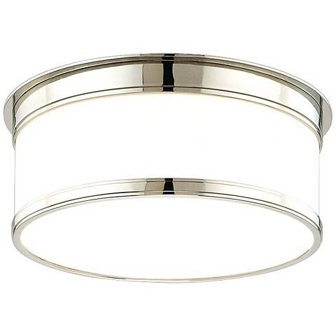 "Hudson Valley Geneva 12 1/4"" Wide Polished Ceiling Light"