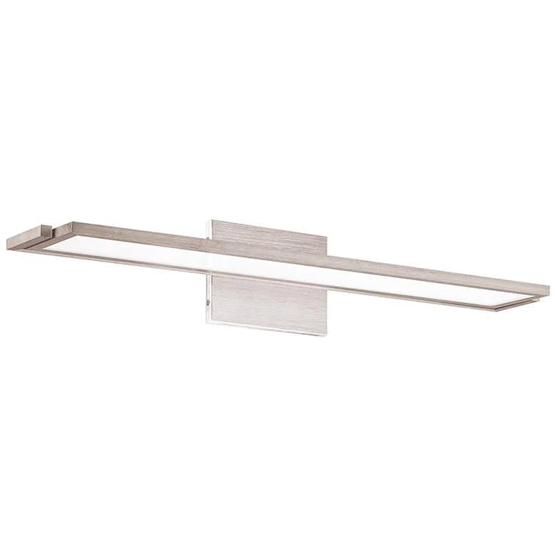 "WAC Line 24"" Wide Brushed Aluminum LED Wall Sconce"