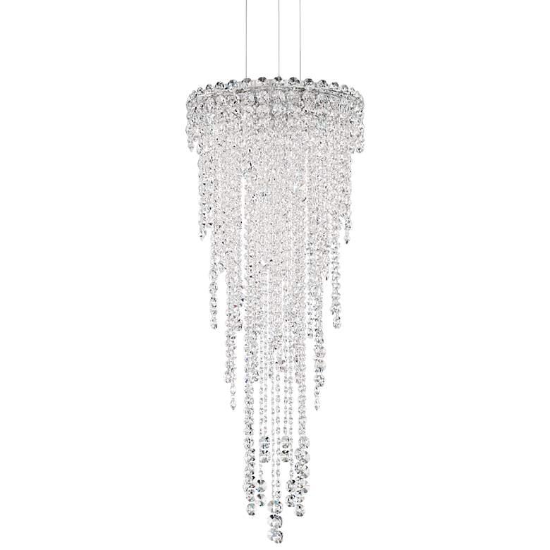 "Schonbek Chantant 14"" Wide Large Crystal Pendant Light"