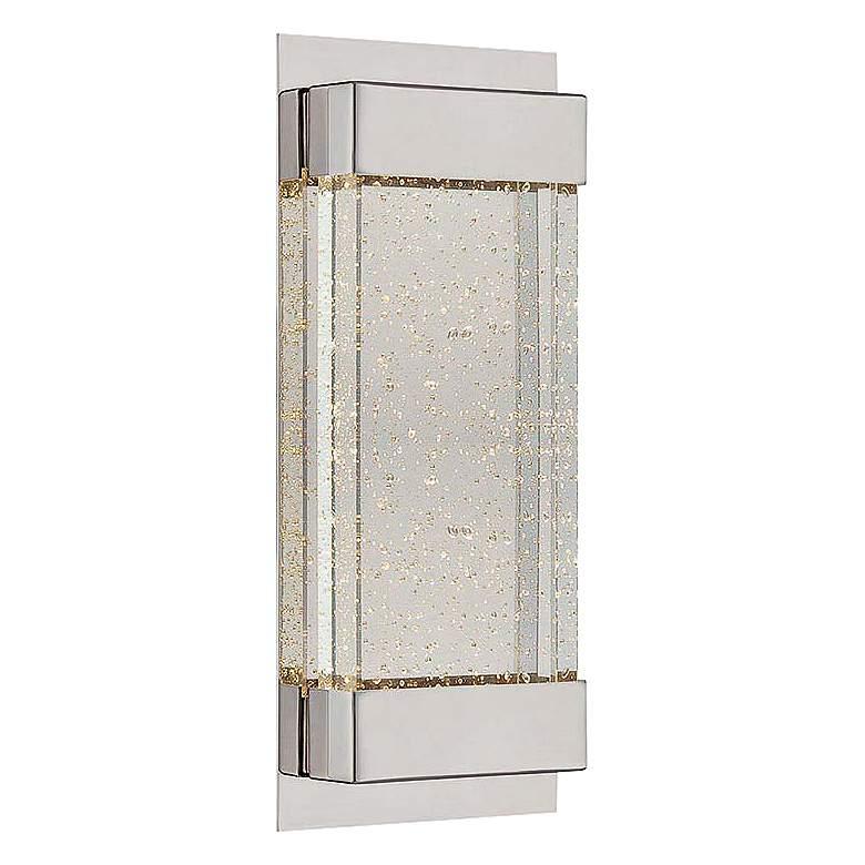"WAC Mythical 13"" High Polished Nickel LED Wall Sconce"