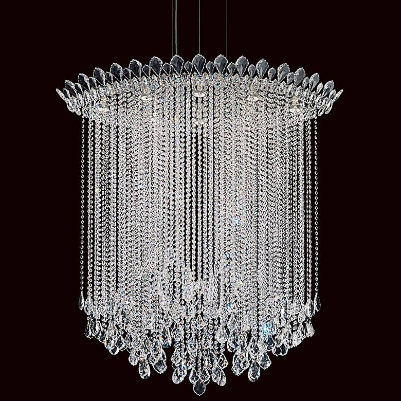 "Schonbek Trilliane Strand 45"" Wide Crystal Pendant Light"