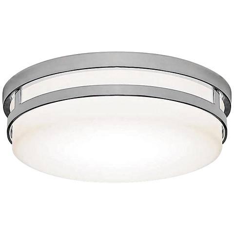 "WAC Vie 14"" Wide Chrome LED Ceiling Light"