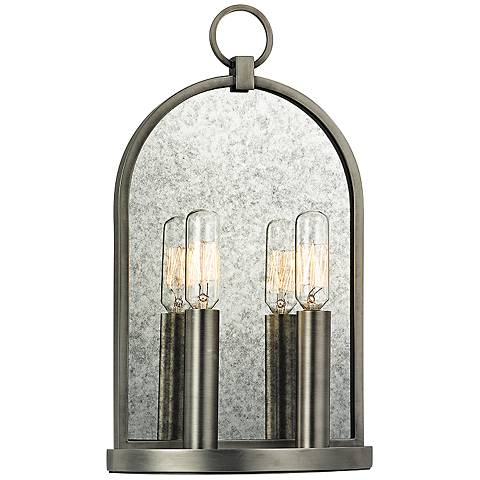 "Hudson Valley Lowell 13 3/4"" High 2-Light Antique Sconce"