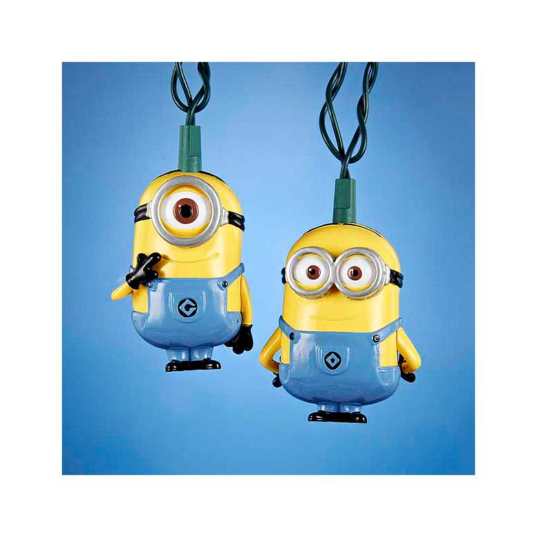Ten Despicable Me Minions Party String Lights