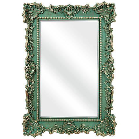 """Sophia 28 3/4"""" x 40 3/4"""" Framed Wall Mirror"""