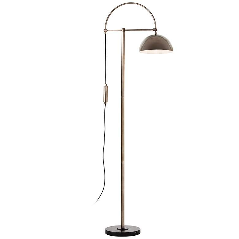 Arteriors Home Jillian Vintage Silver Floor Lamp