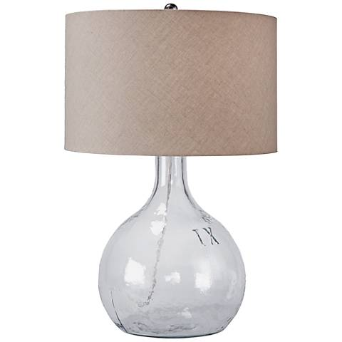 Regina Andrew Design King Nine Recycled Glass Table Lamp