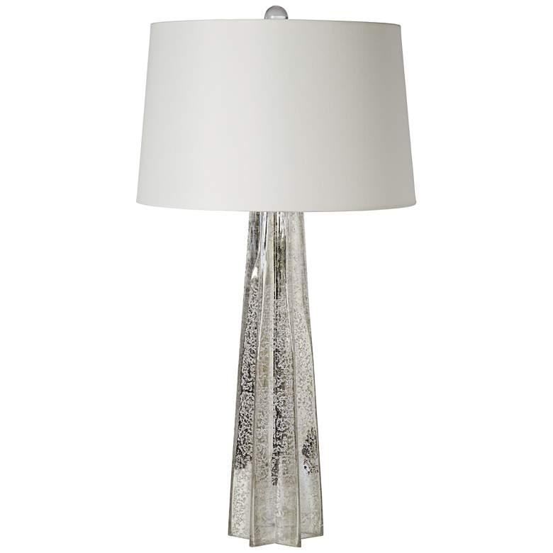 Regina Andrew Antique Mercury Glass Star Table Lamp