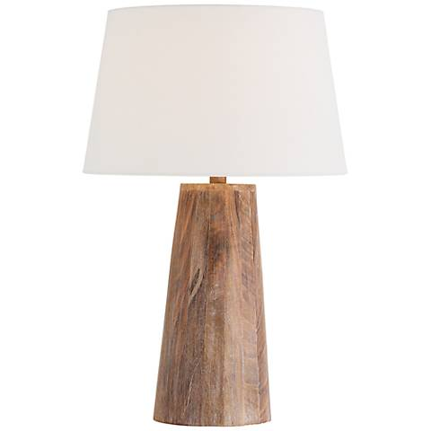 Arteriors Home Jaden Natural Wood Table Lamp