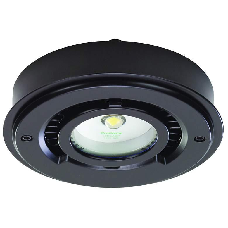 """ProPuck Black 4"""" Wide LED Undercabinet Light"""