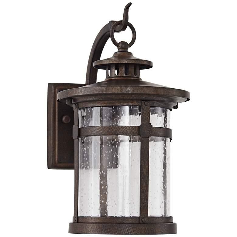 "Callaway 11 1/2"" High Rustic Bronze LED Outdoor Wall Light"