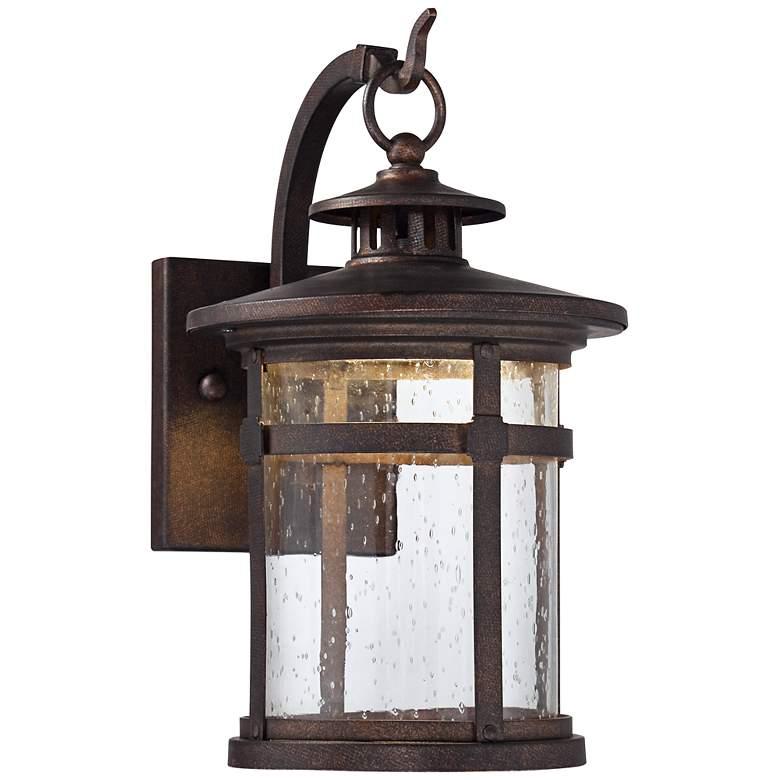 """Callaway 14 1/2"""" High Bronze LED Outdoor Wall Light"""