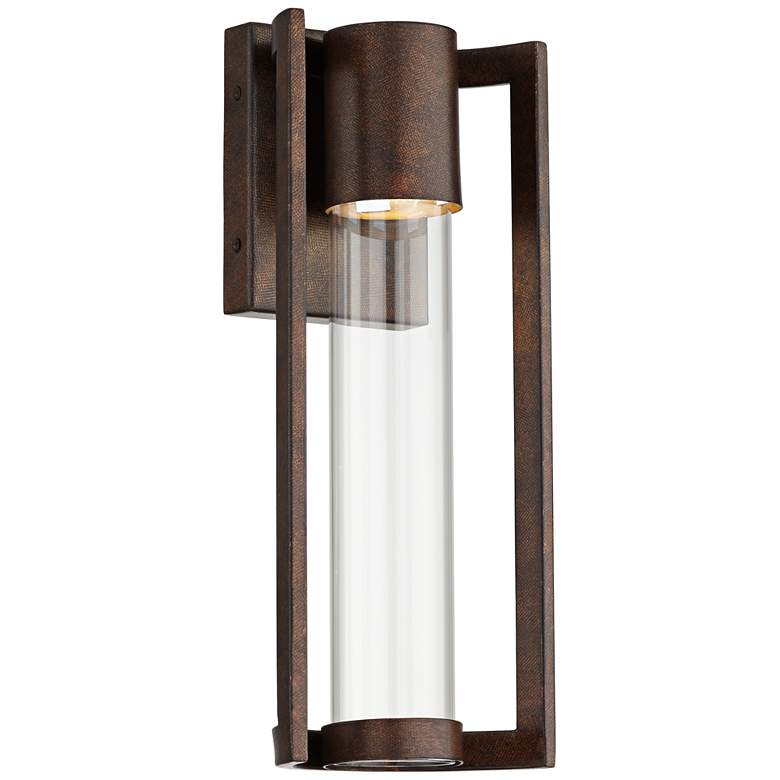 "Maxfield Bronze 15"" High LED Outdoor Wall Light"