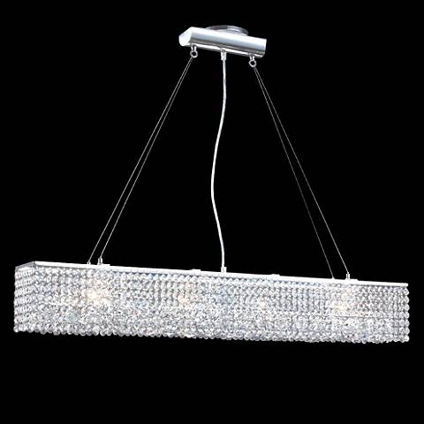 "James R. Moder 37"" Wide Impact 4-Light Chandelier"