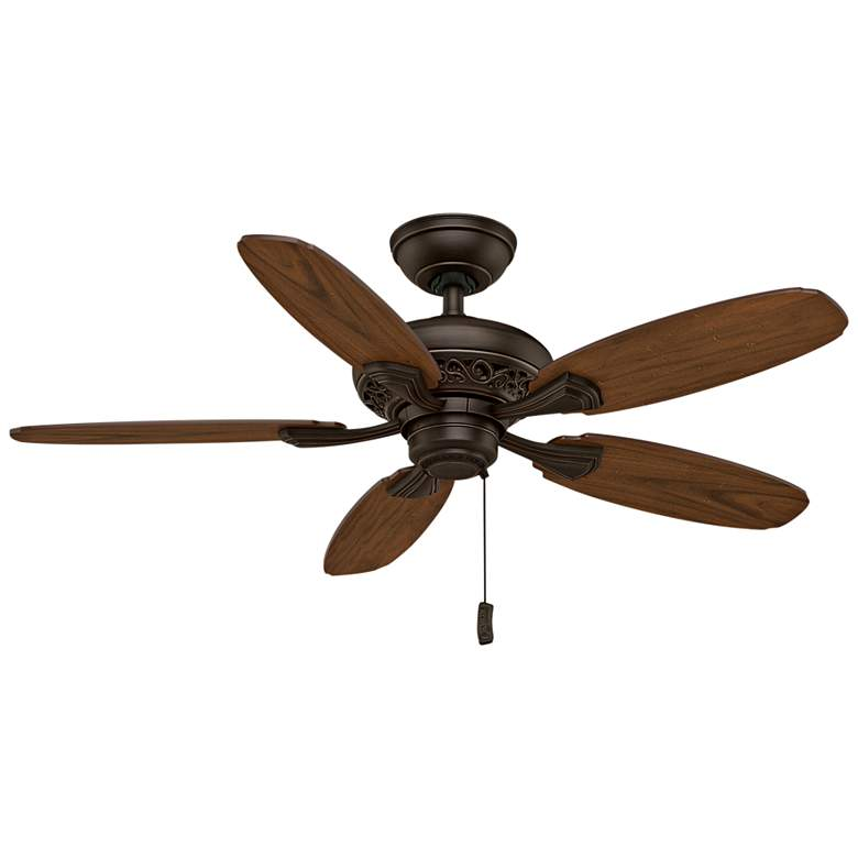 """44"""" Casablanca Fordham Brushed Cocoa Ceiling Fan"""