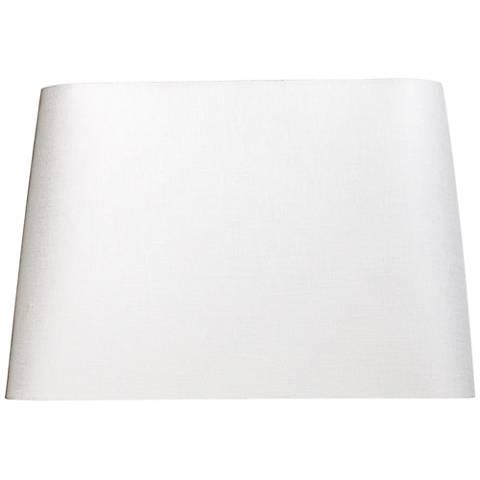 Off-White Hardback Rectangular Shade 8x6/10x8/x8 (Spider)