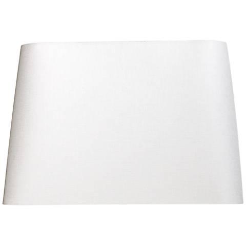 Off-White Rectangular Shade 14x8/16x10/x11 (Spider)
