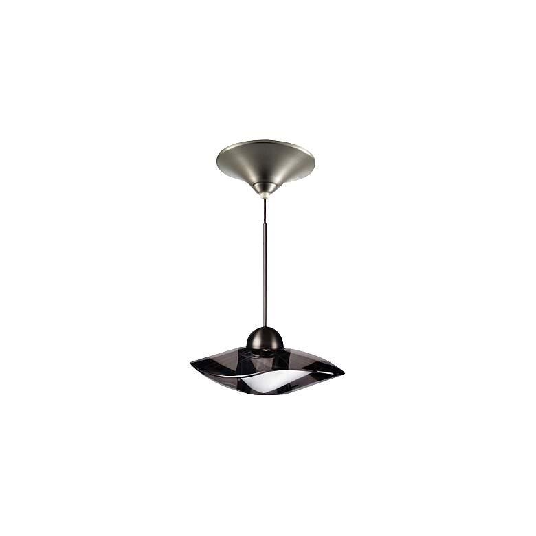 WAC LEDme® LED Smoke Crystal Track Pendant Light