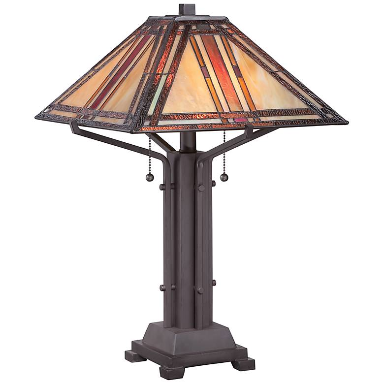 Quoizel Revere Tiffany-Style Table Lamp