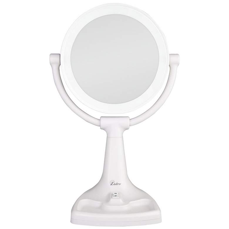 Bright Sunlight Dual-Sided Makeup Mirror
