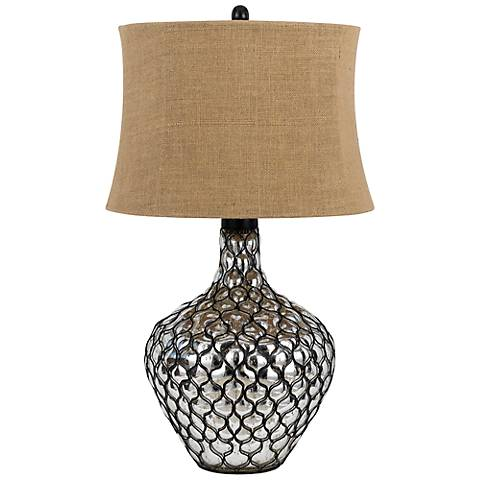 Puebla Glass Table Lamp