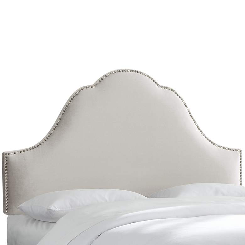 Mystere Dove High-Arch Queen Headboard