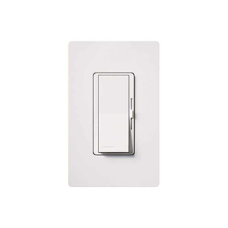 Lutron Diva White 600W Incandescent/Halogen 3-Way Dimmer