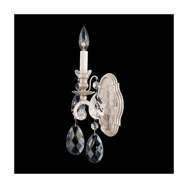 "Schonbek Renaissance Collection 15 1/2"" High Crystal Sconce"