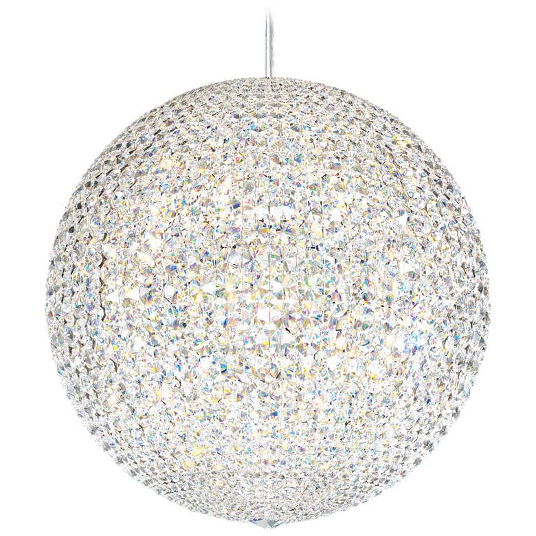 "Schonbek Da Vinci Collection 24"" Wide Crystal Pendant Light"