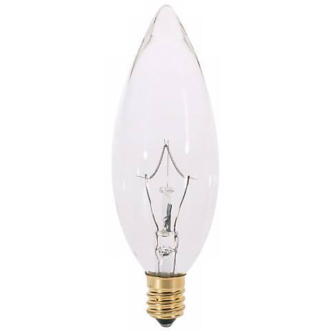 25 Watt Candelabra Torpedo Light Bulb